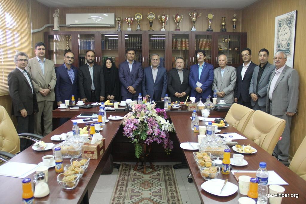 دیدار با مجمع نمایندگان مجلس شورای اسلامی قزوین